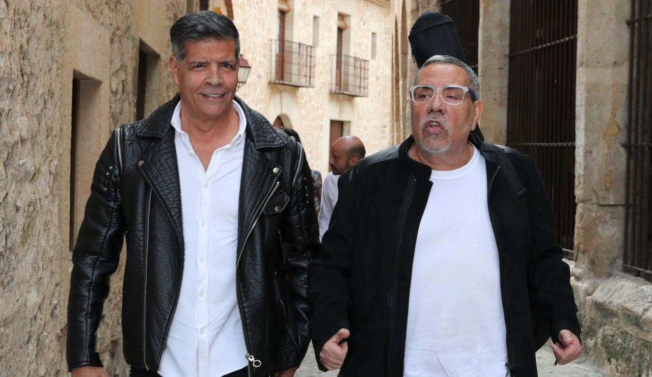 Los hermanos José y Juan Salazar del dúo Los Chunguitos