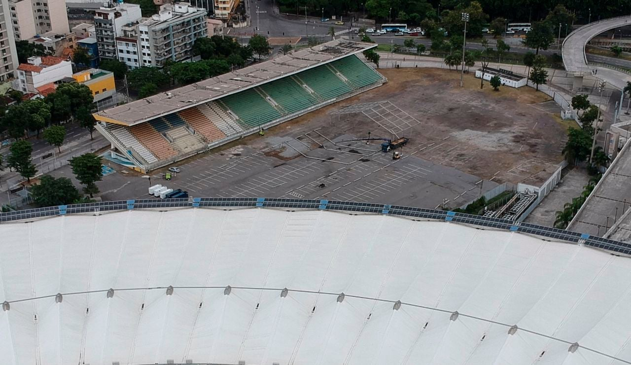 El estadio de Maracaná
