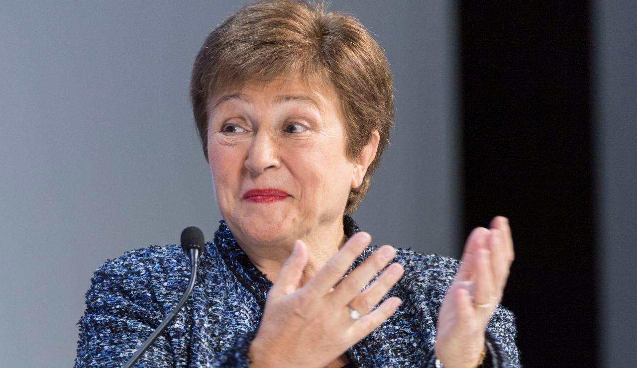 La directora gerente del Fondo Monetario Internacional (FMI), Kristalina Georgieva
