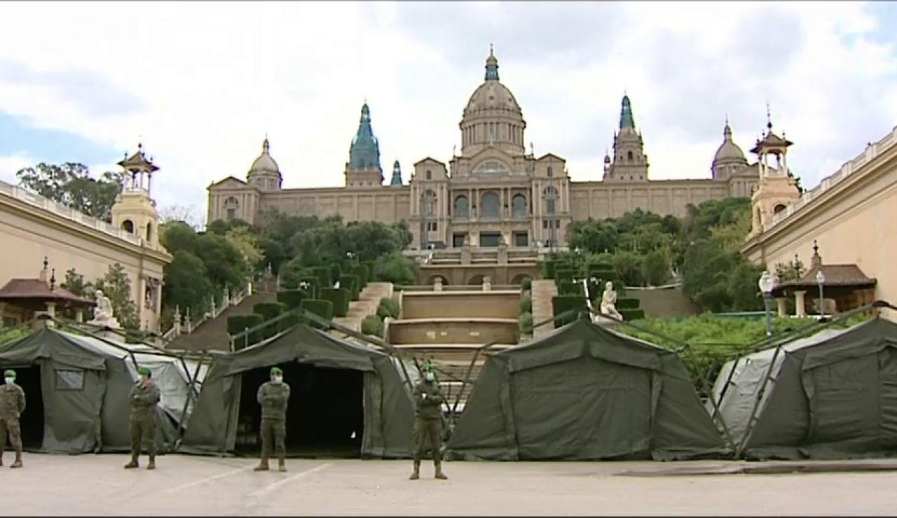 Generalitat, de rechazar al ejército a reclamarlo contra el coronavirus