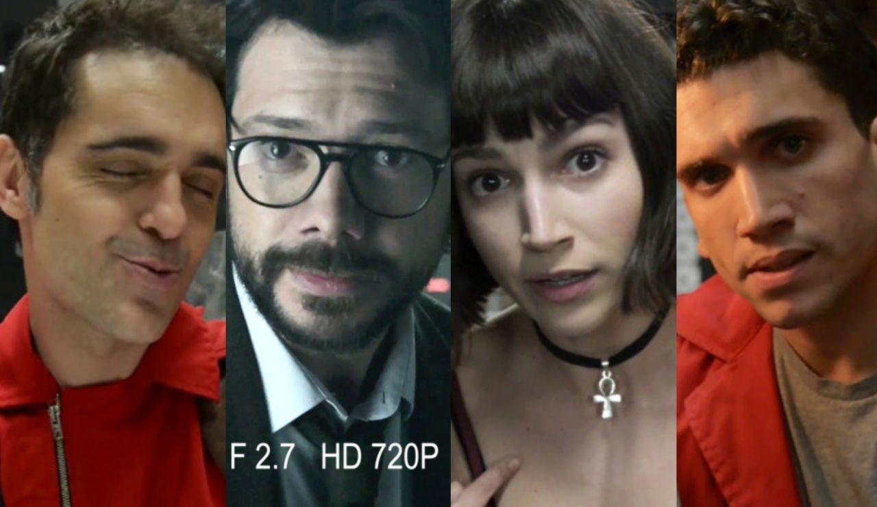 Las confesiones exclusivas de los protagonistas de 'La Casa de Papel'