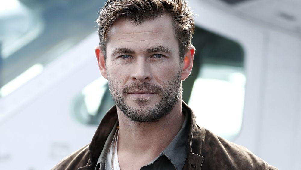 El actor Chris Hemsworth
