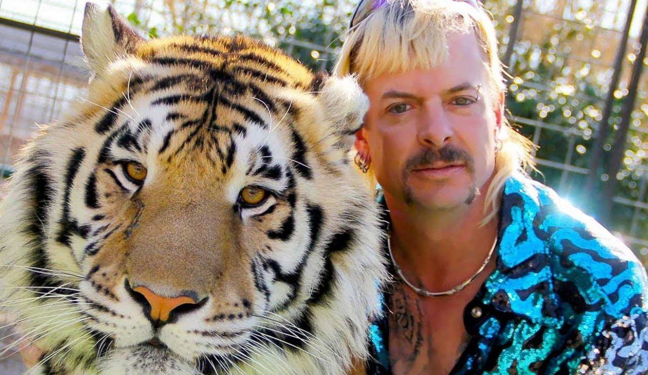 Joe Exotic, protagonista de la miniserie documental 'Tiger King', en una imagen promocional