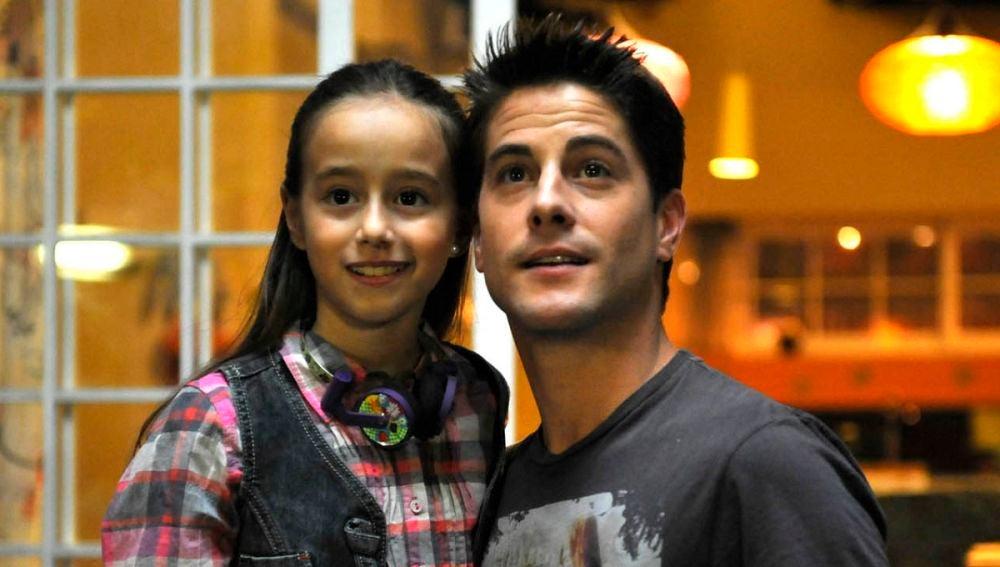 Priscilla Delgado y Luis Fernández en 'Los Protegidos'