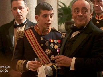 Alfonso XIII o Novoa Santos, los personajes históricos que han pasado por Puente Viejo