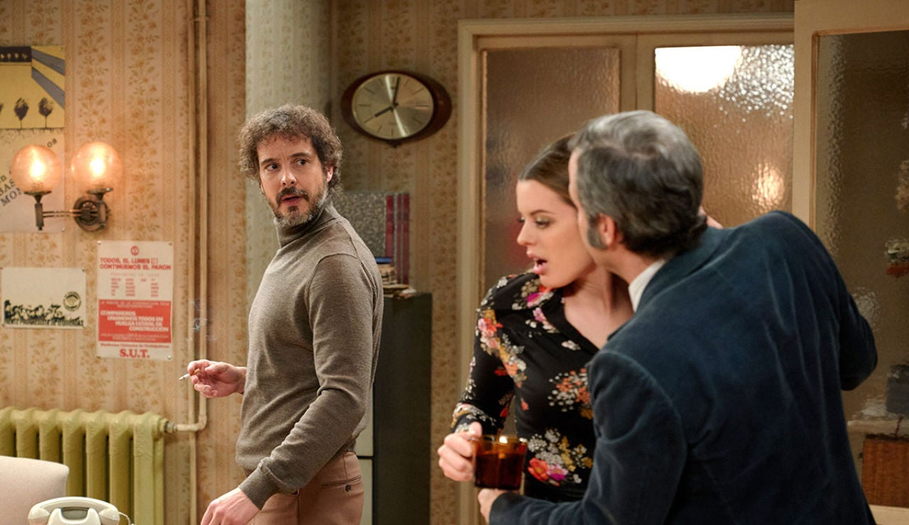Guillermo sorprende a Lourdes y David en una situación comprometida
