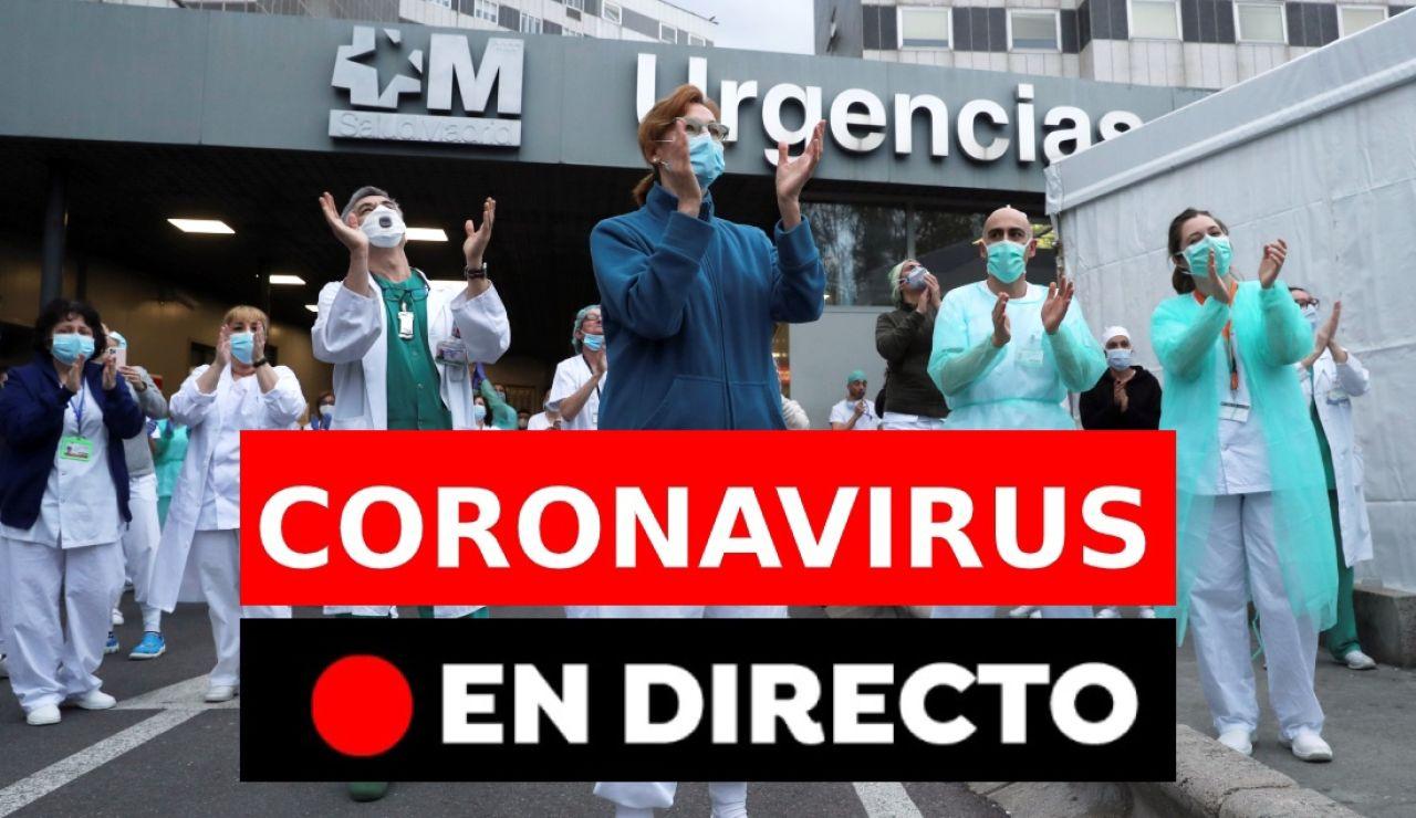 Coronavirus España: Datos y nuevos casos de hoy, noticias de última hora en directo