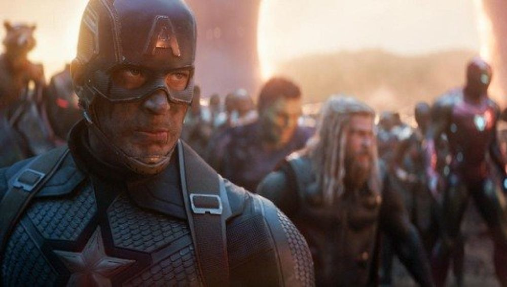 Los vengadores en 'Endgame' contra Thanos