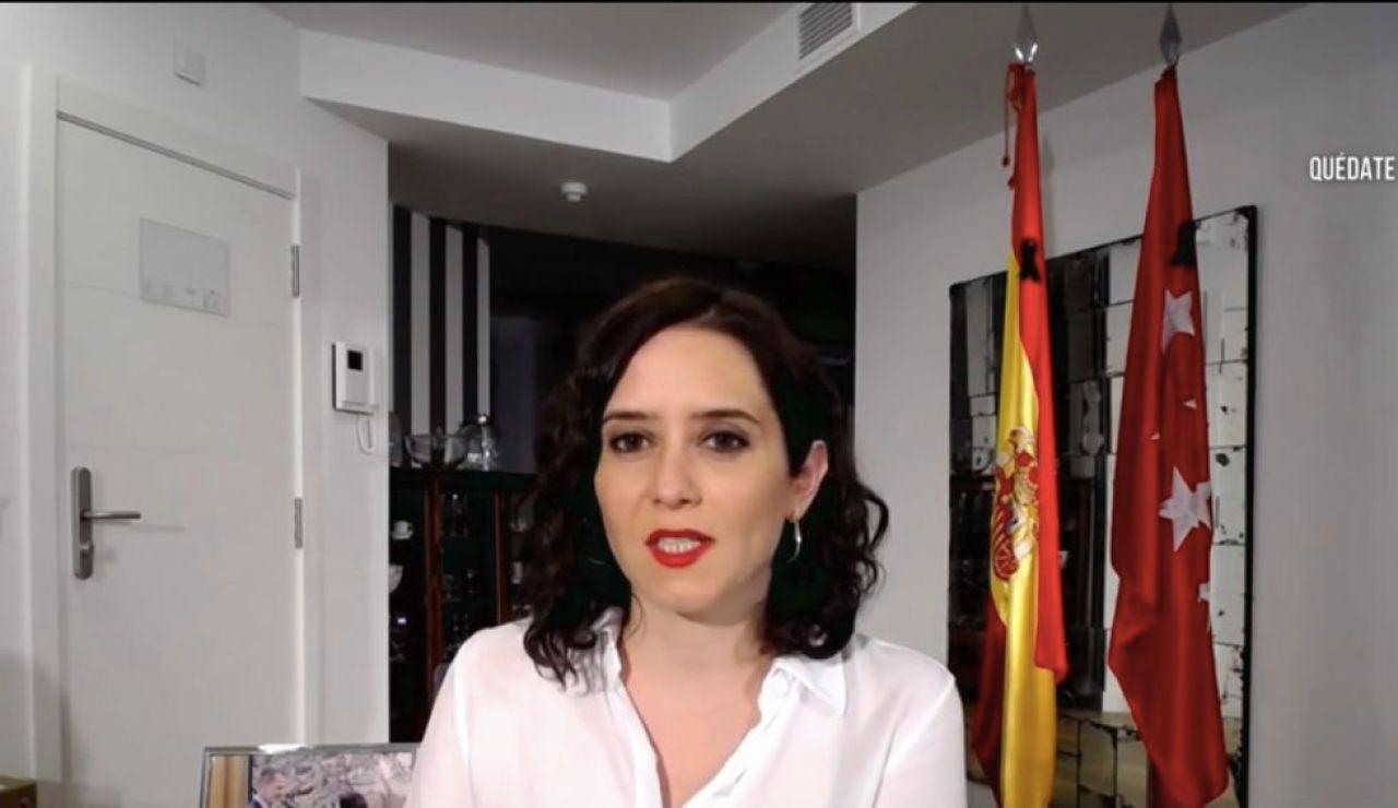 """A3 Noticias de la mañana (03-04-20) Isabel Díaz Ayuso anuncia que Madrid empezará la próxima semana a hacer """"test masivos"""" para controlar el coronavirus"""