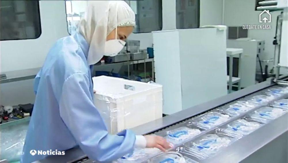Una empresa fabricará 60 millones de mascarillas en España para combatir al coronavirus