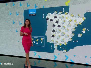 Un frente atlántico traerá precipitaciones a varias zonas de la Península