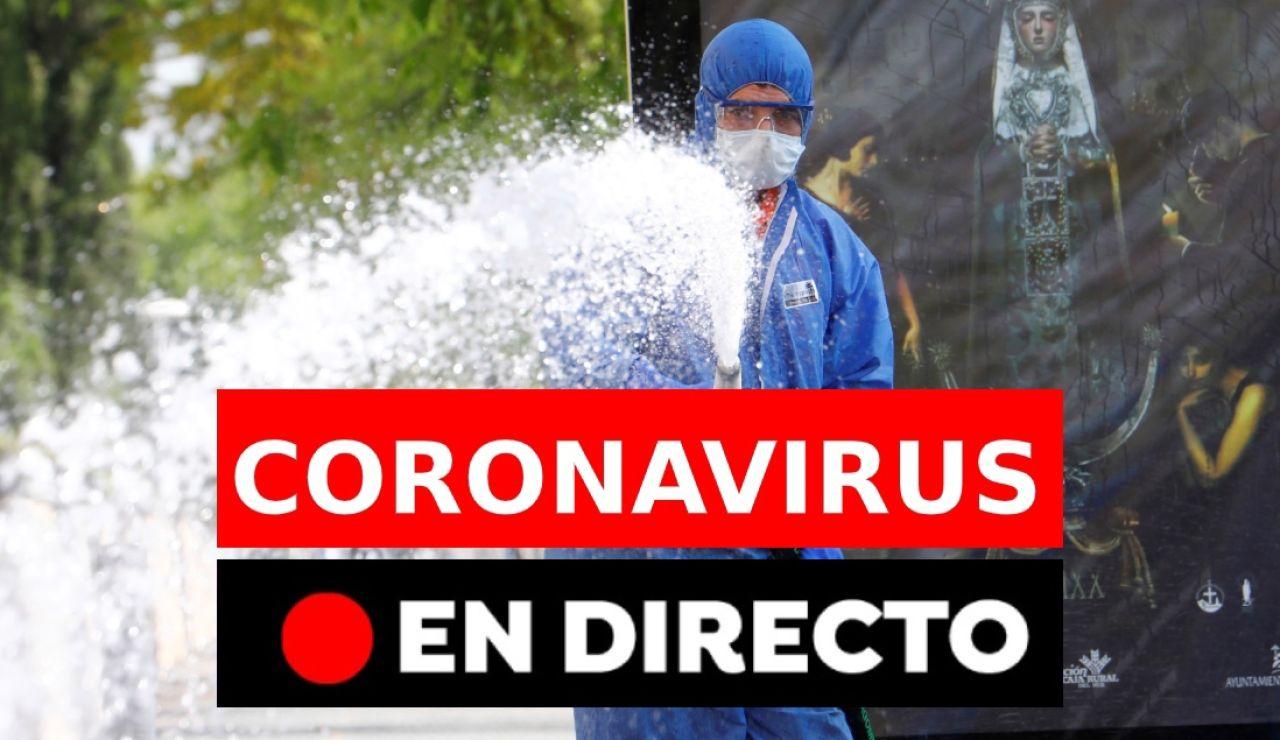 Coronavirus: Última hora del coronavirus en España y el mundo, en directo