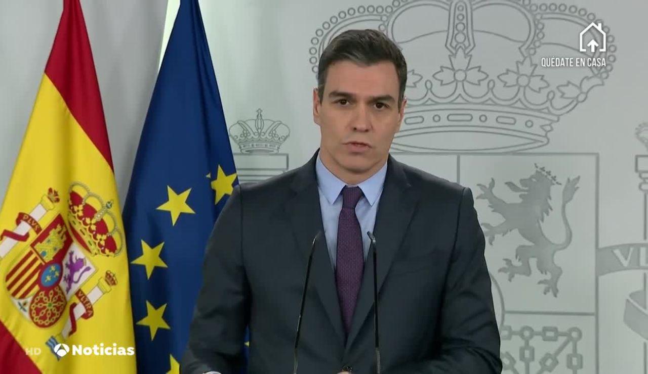 Pedro Sánchez el sábado 4 de abril