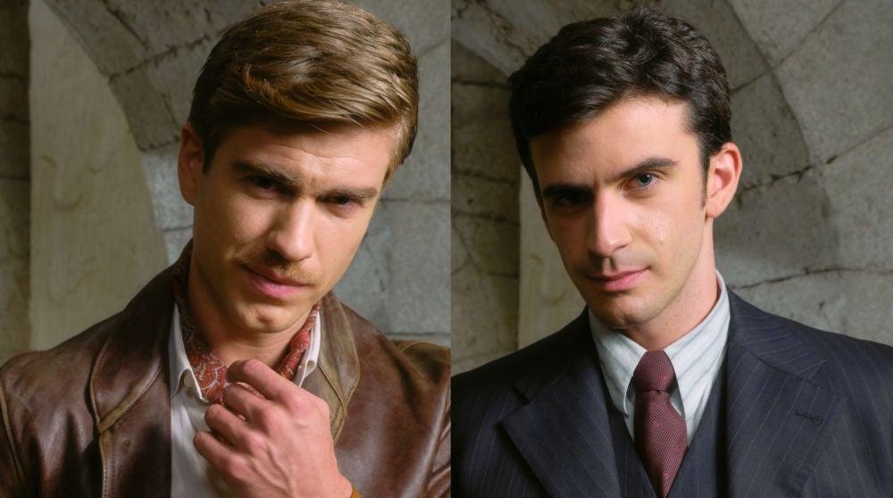 Adrián Pedraja y Alejandro Vergara, Adolfo y Tomás en 'El secreto de Puente Viejo'