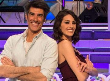 Jorge Fernández y Laura Moure, presentadores de 'La ruleta de la suerte'