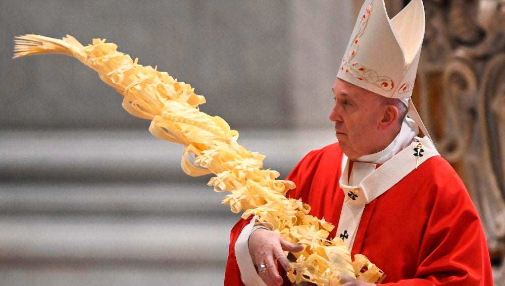 El Papa da comienzo a una insólita Semana Santa sin fieles por la crisis del coronavirus