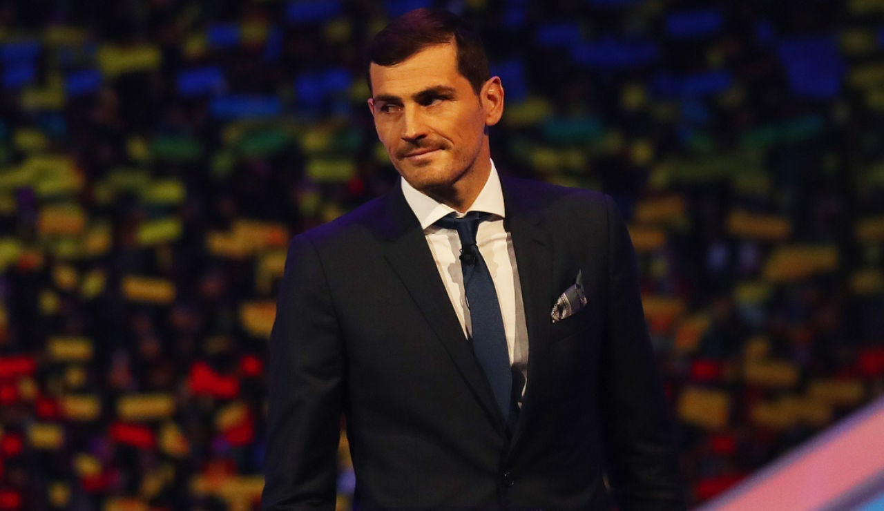 Iker Casillas, en un evento