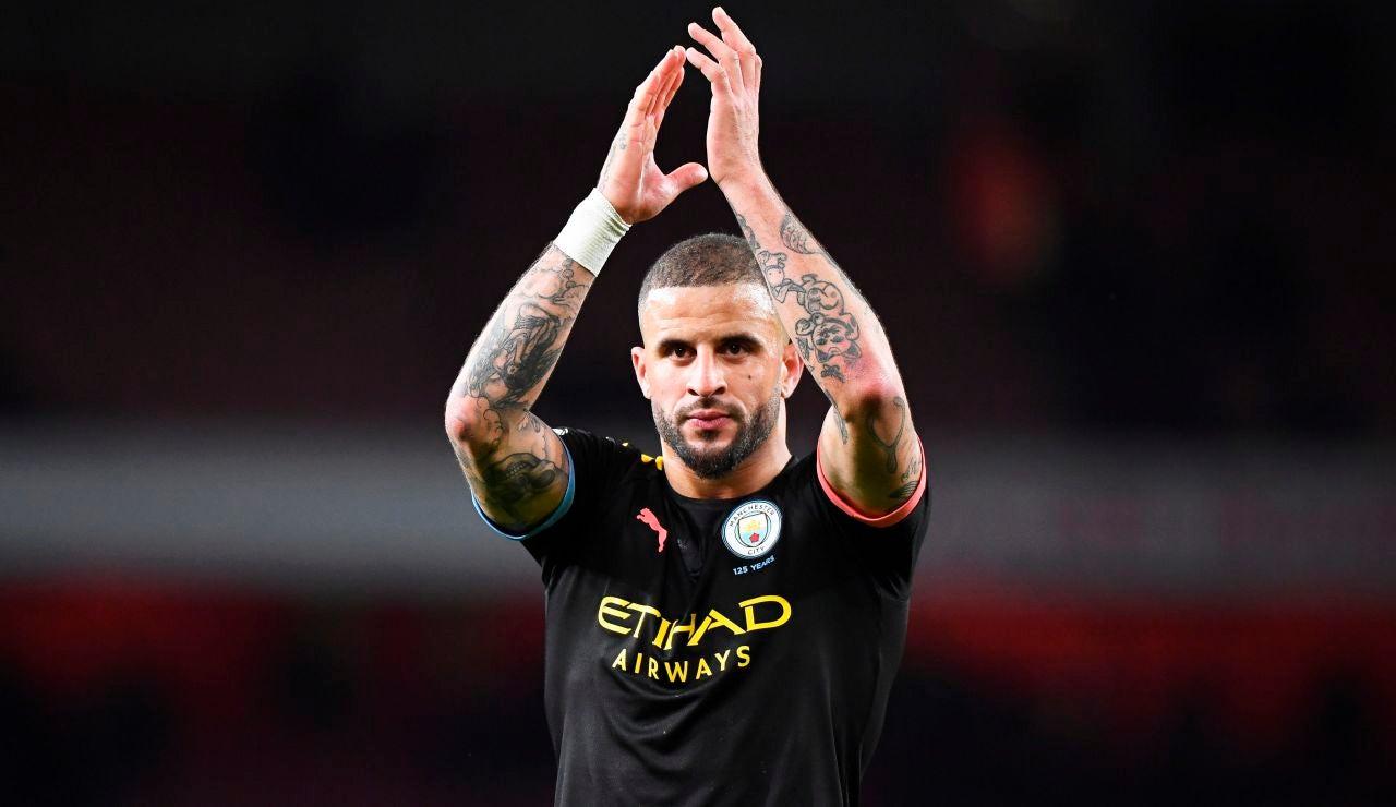 Kyle Walker, jugador del Manchester City