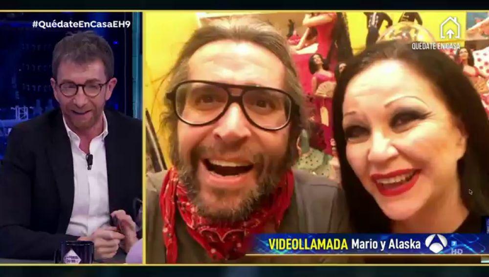 Revive la entrevista al completo de Alaska y Mario en 'El Hormiguero 3.0'