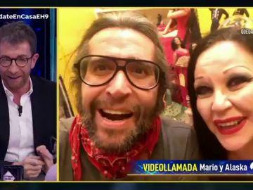 El impresionante cambio de look de Mario Vaquerizo por el confinamiento