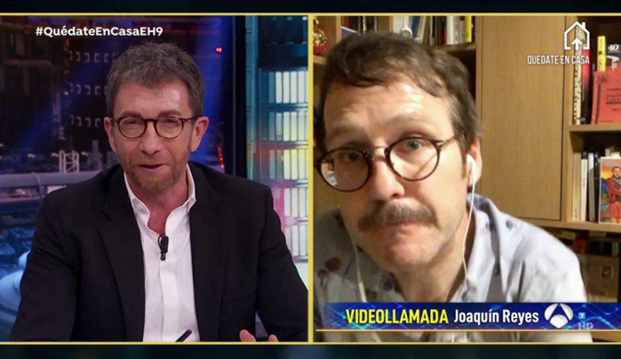 """""""Les obligo a portarse mal"""", así está pasando Joaquín Reyes el confinamiento con sus hijos"""
