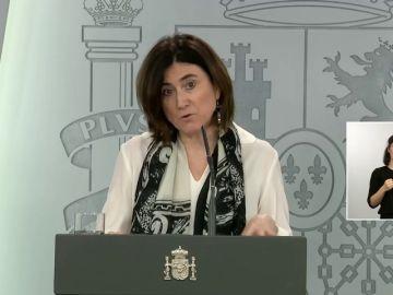 """María José Sierra: """"Vamos a producir más PCR. Se están diseñando estudios también con test rápidos"""""""