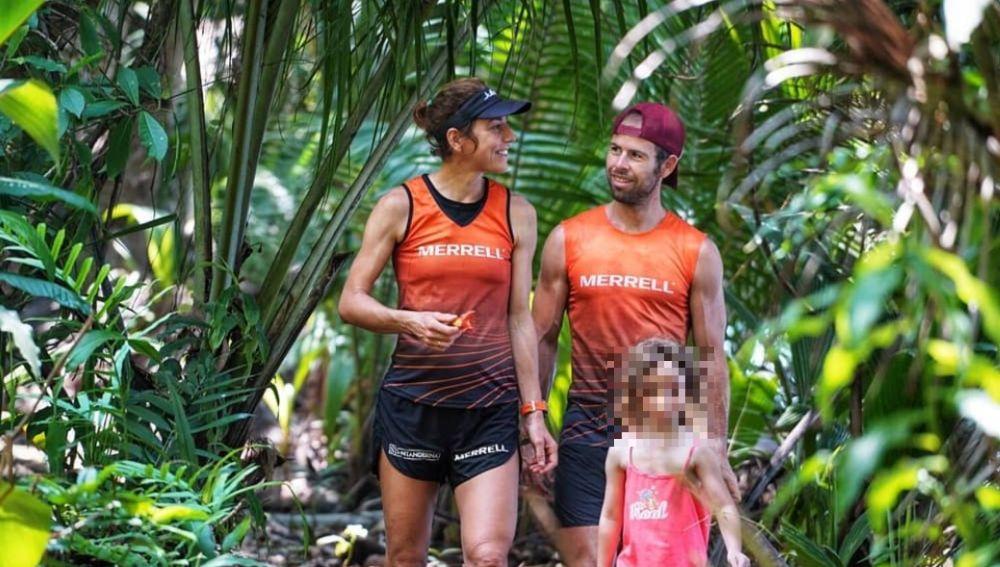 Los ultramaratonianos Pere Aurell y Ragna Debats