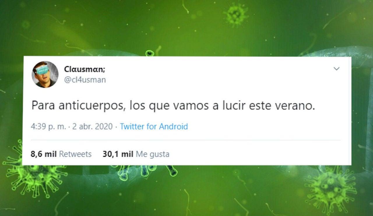 Tuit de @cl4usman