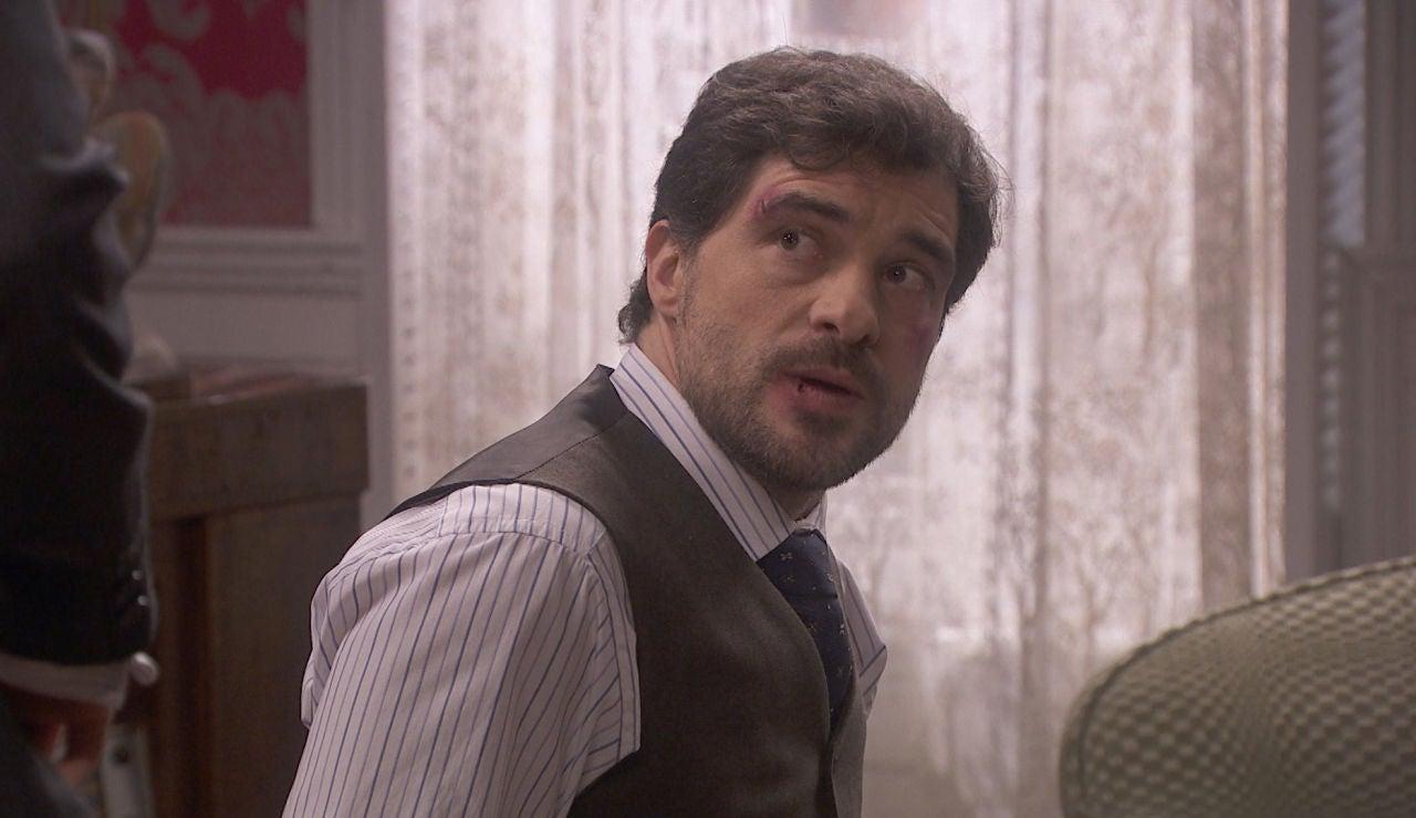 'El secreto de Puente Viejo': Íñigo Maqueda, obligado a confesar toda la verdad a Tomás