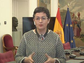 Arancha González Laya, ministra de Asuntos Exteriores.