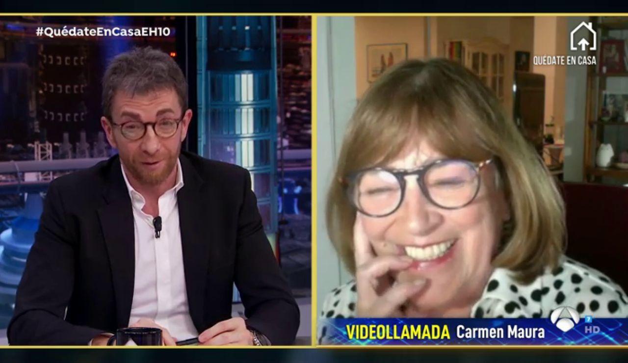 Disfruta de la entrevista al completo de Carmen Maura en 'El Hormiguero 3.0'