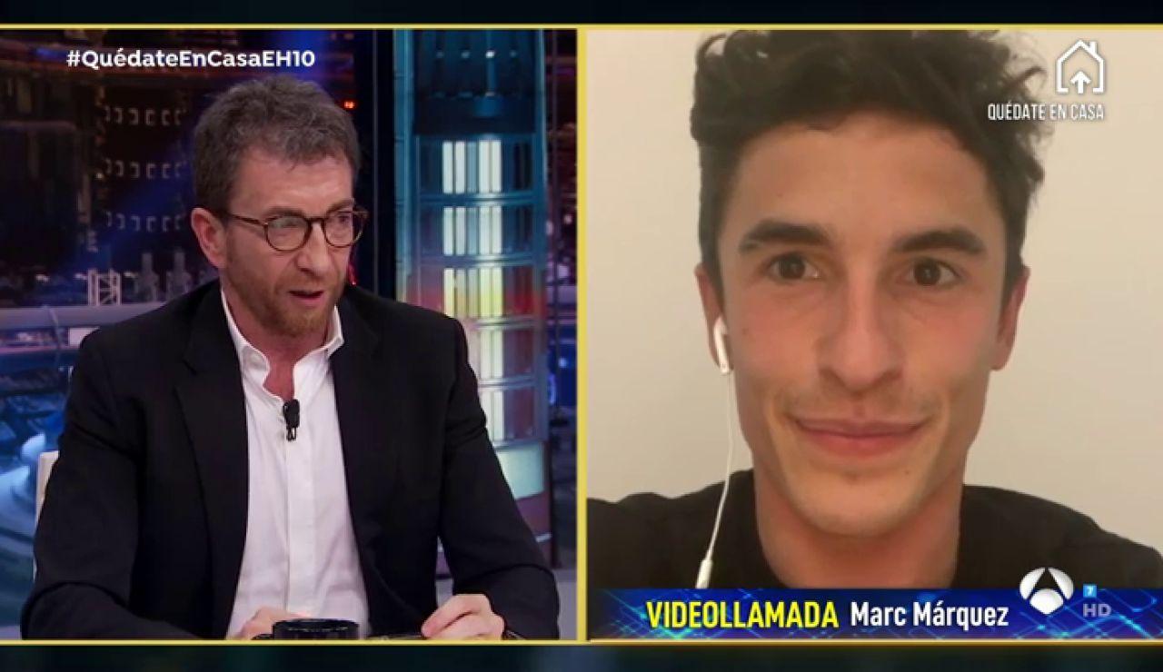 Revive la entrevista al completo de Marc Márquez en 'El Hormiguero 3.0'