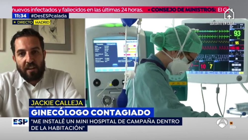 Ginecólogo contagiado.