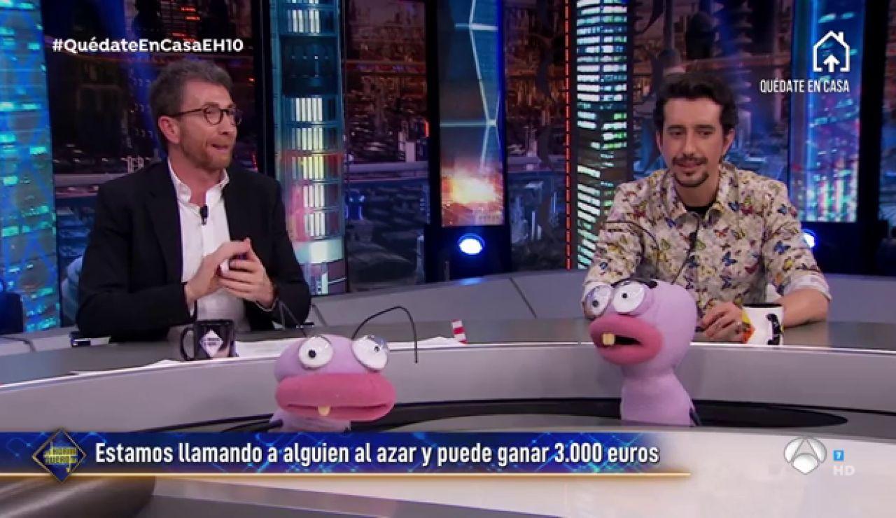 La surrealista llamada con la familia ganadora de los 3.000 euros de 'El Hormiguero 3.0'