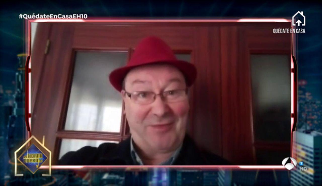 Leonardo Dantés sorprende con un mensaje para Pablo Motos y 'El Hormiguero 3.0'