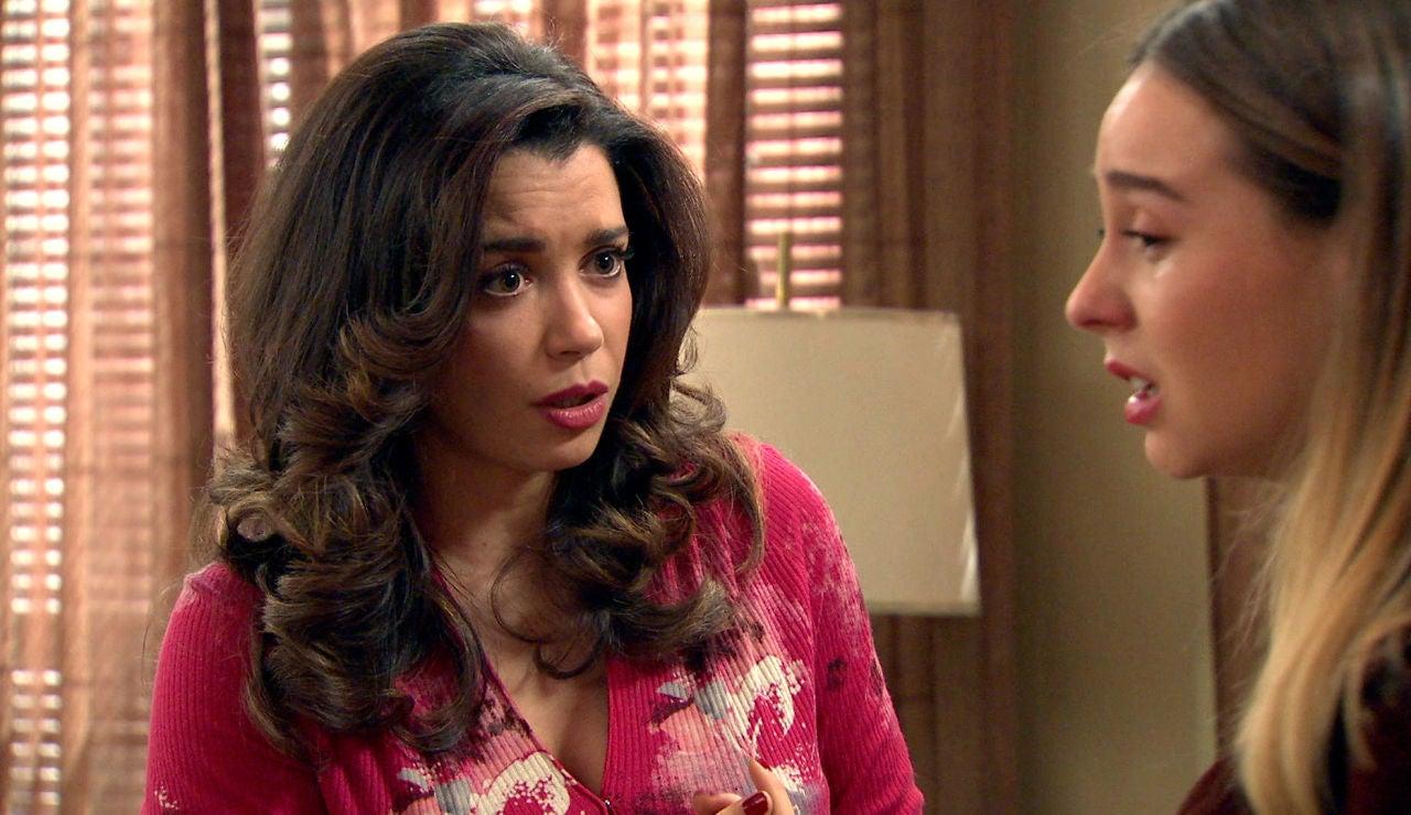 Amelia, dispuesta a todo por ayudar a una Luisita desesperada