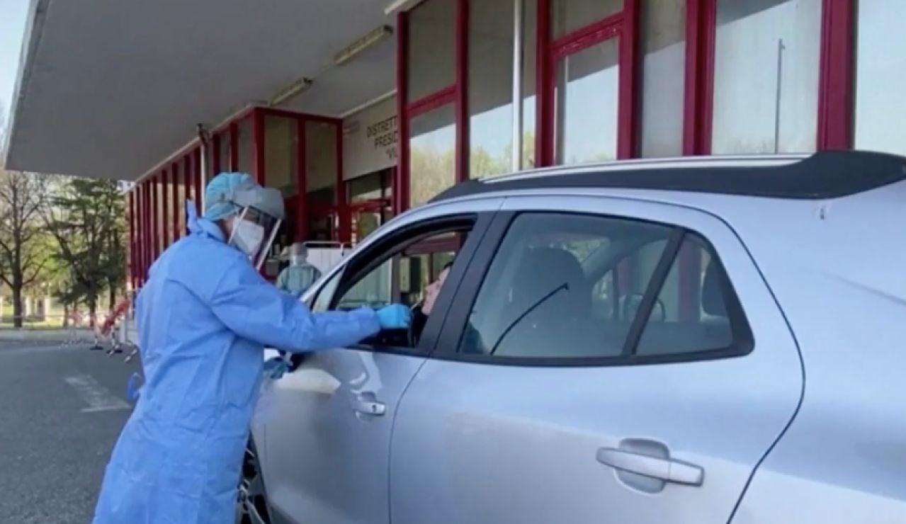 Italia realizará test del coronavirus