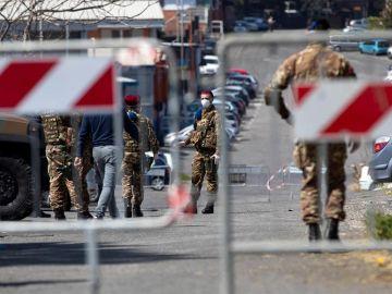 Militares en Italia