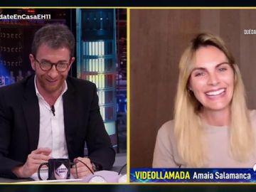 Amaia Salamanca revela cómo ha celebrado su cumpleaños en plena cuarentena