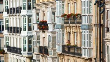 Imagen de archivo de balcones