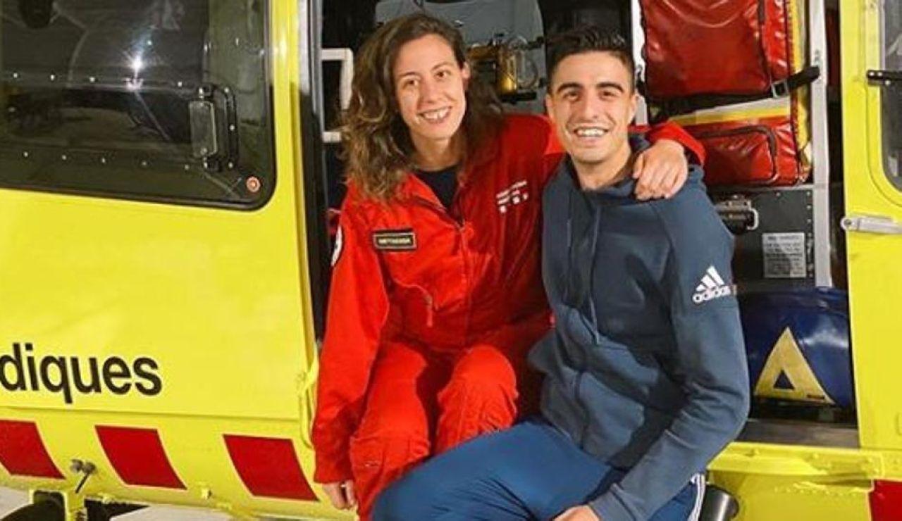 Joel González y su hermana Dara