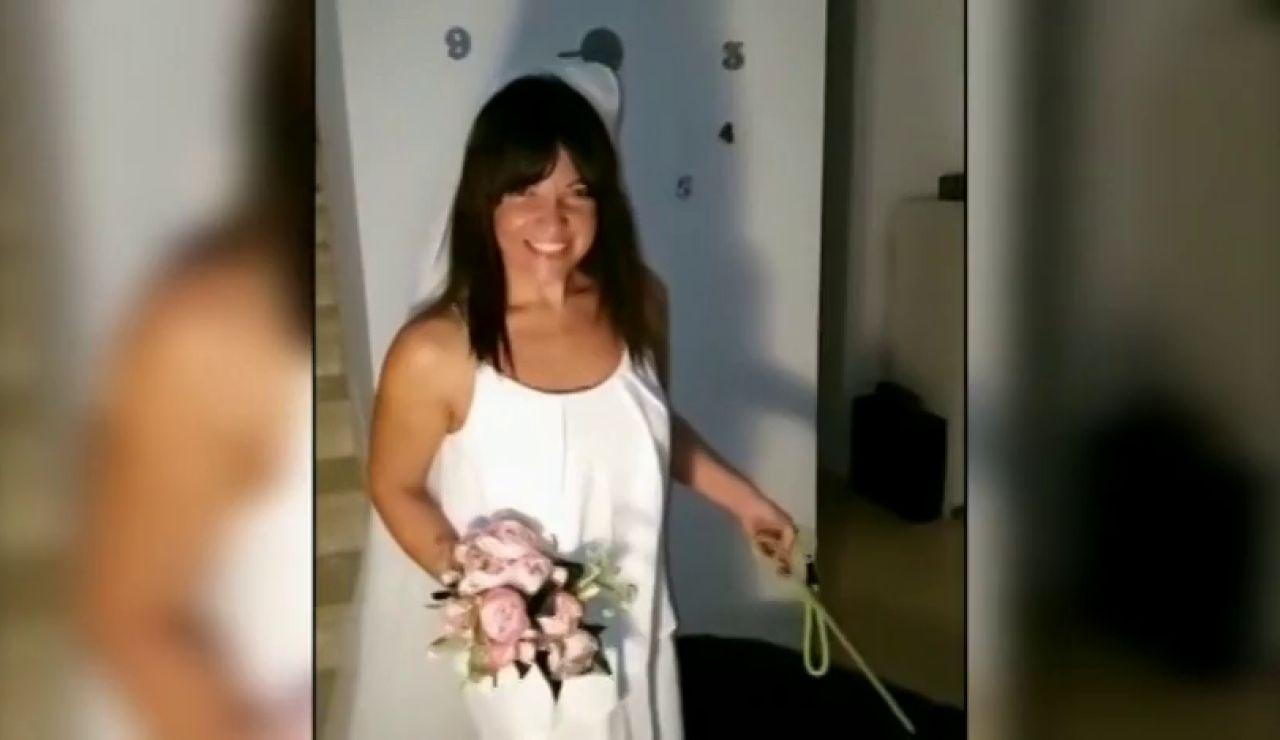 """La boda de una pareja de Canarias que """"no podía esperar"""""""