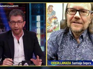 Revive la entrevista completa de Santiago Segura en 'El Hormiguero 3.0: quédate en casa'
