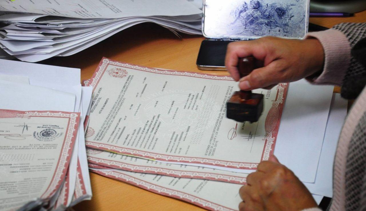 Trámites en el Registro Civil