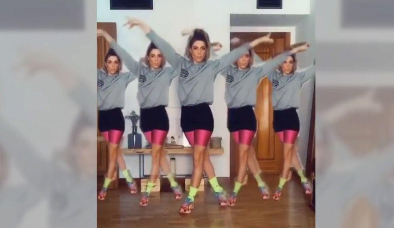 La espectacular imitación de Miriam Rodríguez del sensual baile de Jennifer López en la Super Bowl