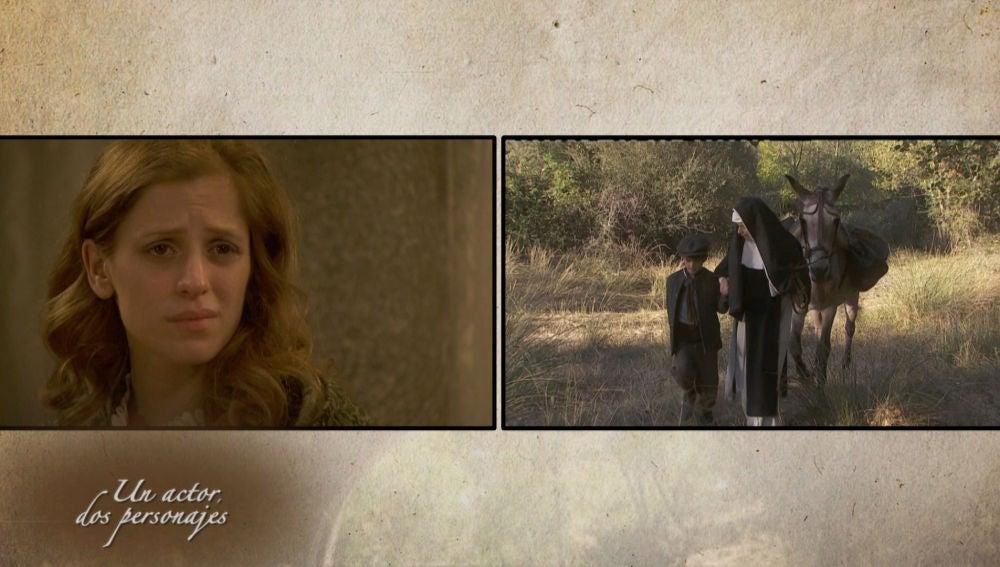 Sara Ballesteros, la actriz que dio vida a dos personajes en 'El secreto de Puente Viejo'