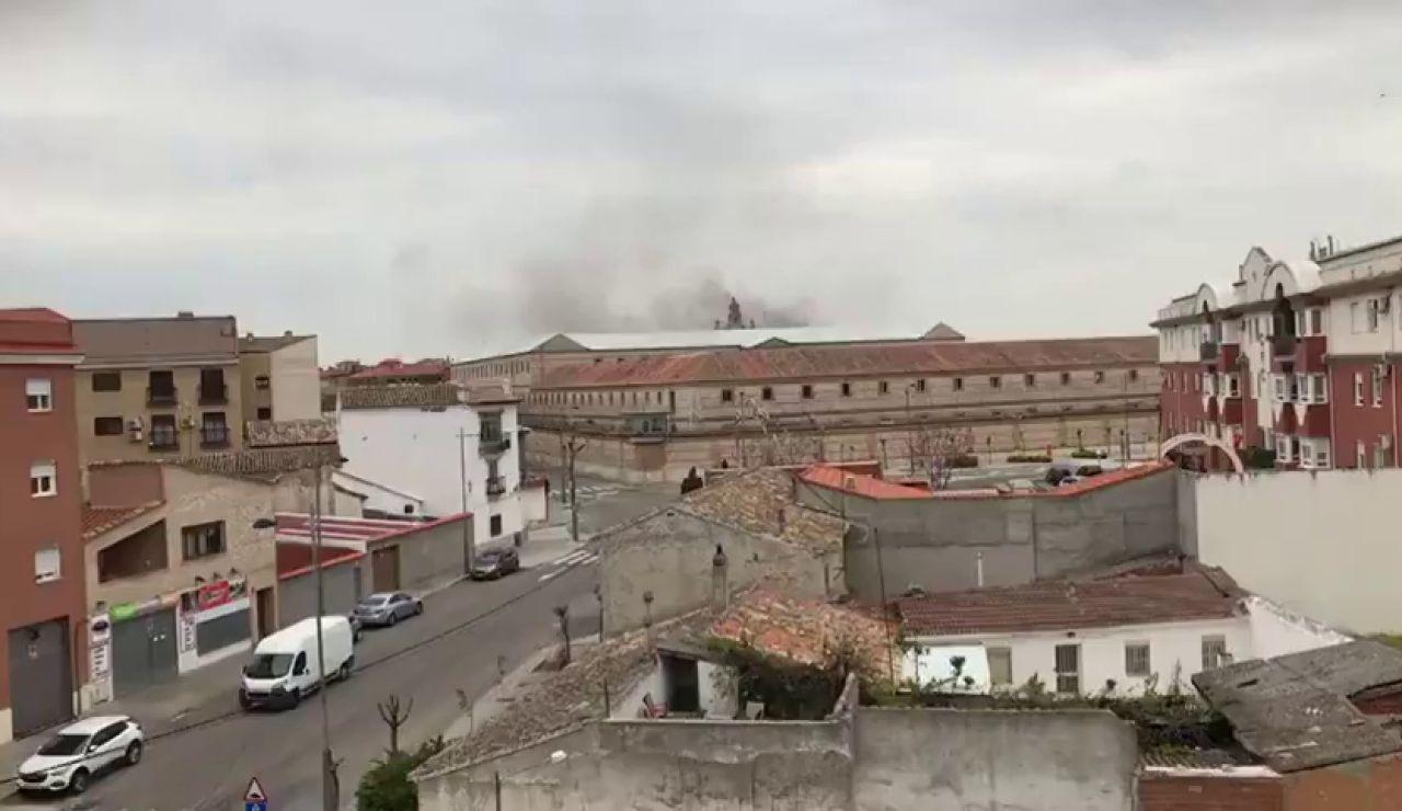 Protestas en el centro penitenciaron de Ocaña tras el desmayo de uno de los internos