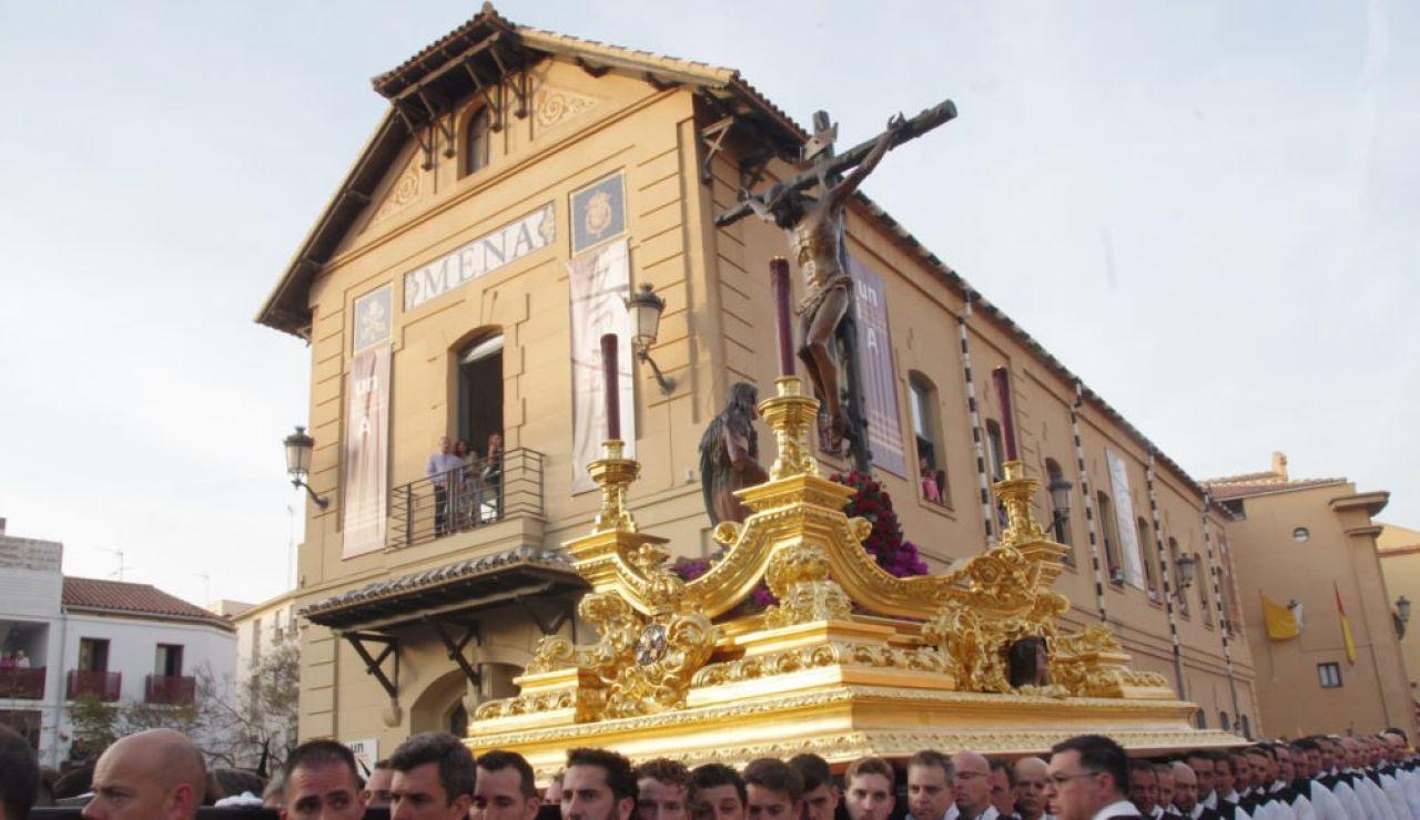 Cofradía Mena Crucificado de la Buena Muerte Jueves Santo Semana Santa Málaga