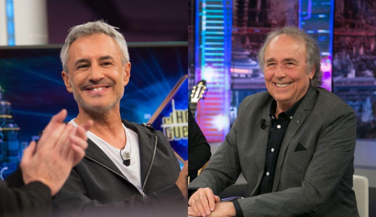 El martes se divertirán en 'El Hormiguero 3.0: quédate en casa' Sergio Dalma y Joan Manuel Serrat
