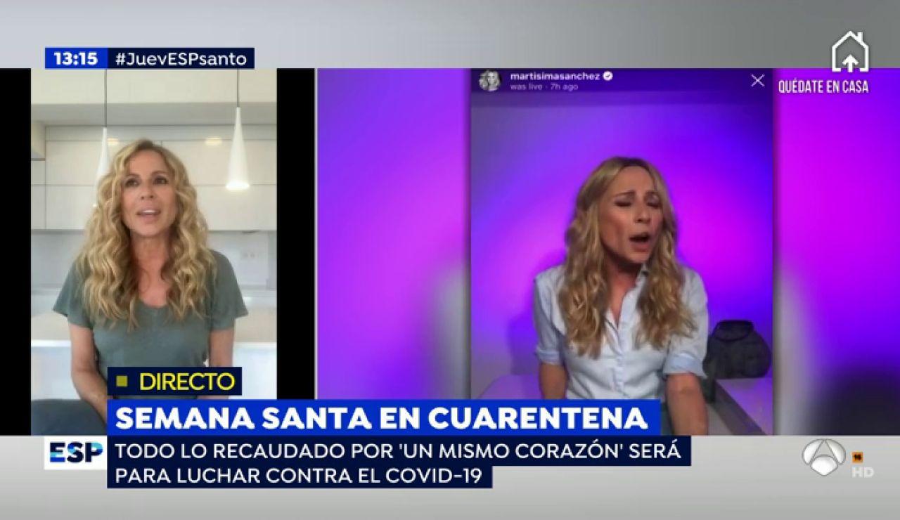 Nuevo trabajo de Marta Sánchez.